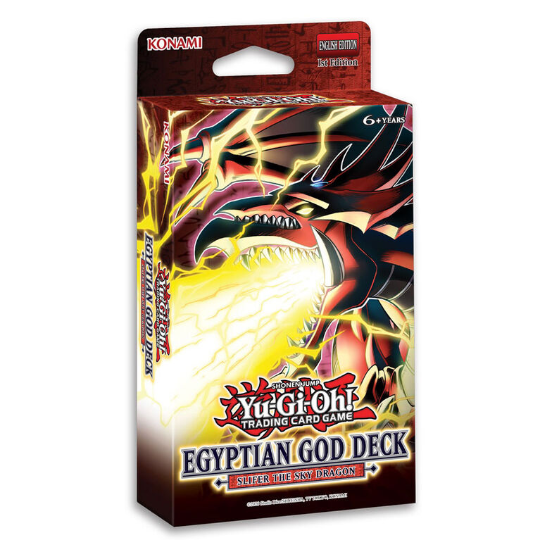 Yu-Gi-Oh! Egyptian God Slifer Deck - English Edition