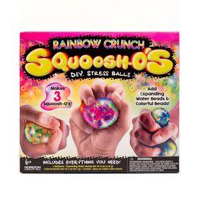 DIY Rainbow Crunch Squoosh-O's