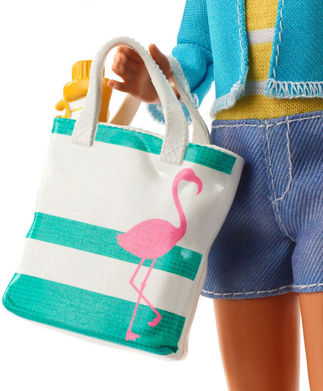 Barbie Travel Stacie Doll and Accessories Set