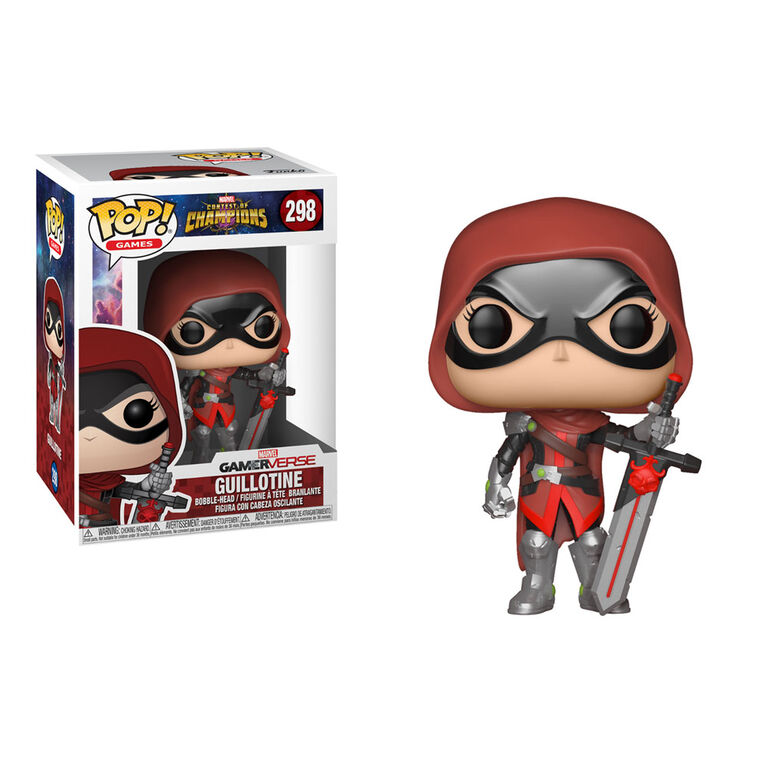 Funko Pop! Games: Marvel - Contest of Champions - Guillotine Vinyl Figure