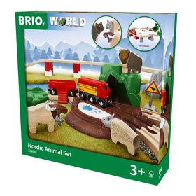 BRIO Forest Animal Set