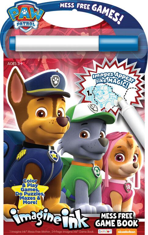 PAW Patrol Mess Free Game Book - English Edition