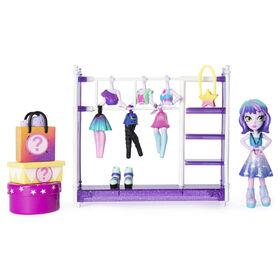 Studio de mode Off The Hook, Coffret de petites poupées de 10 cm avec tenues et accessoires à combiner et assortir. - Notre Exclusivité