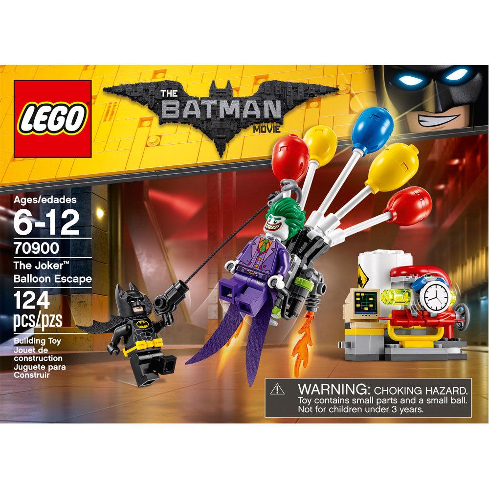 The LEGO Batman MovieThe Joker Minifigure from Set 70900