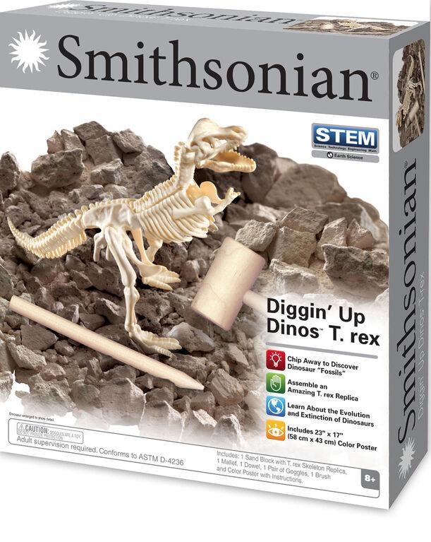 Smithsonian -Diggin' Up Dinaosaurs T-Rex