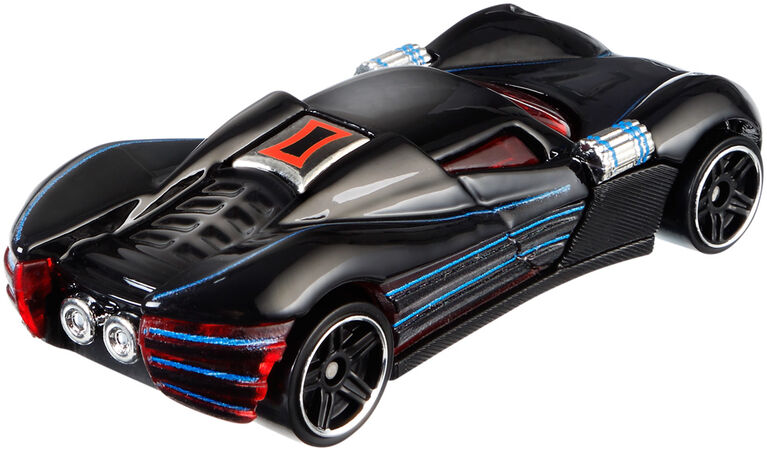Hot Wheels Marvel Character Car - Black Widow