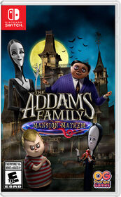 Nintendo Switch The Addams Family Mansion Mayhem