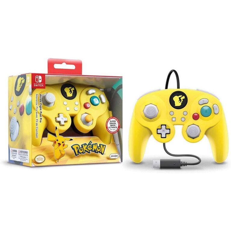 Nintendo Switch Fight Pad - Pikachu