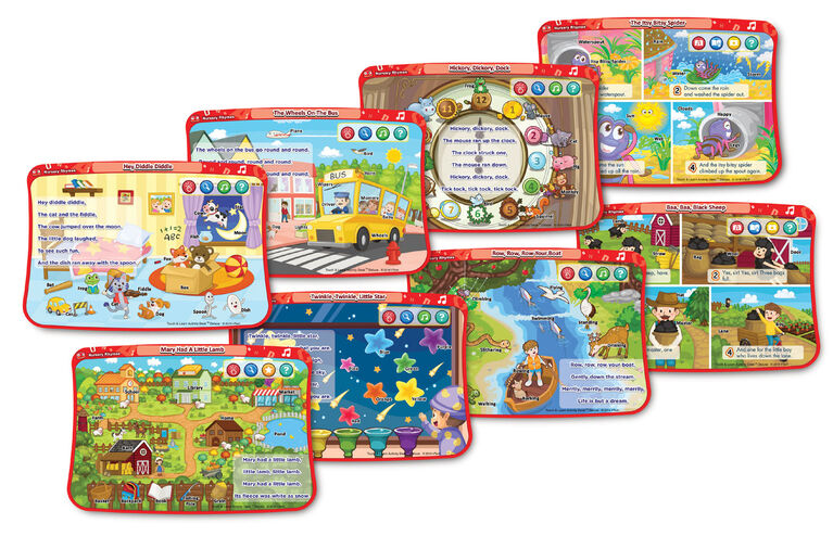 Touch & Learn Activity Desk Deluxe - Nursery Rhymes - English Edition