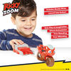 Collection de jouets Launch & Go Ricky Zoom incluant une Figurine de luxe Ricky Zoom - Figurine 3po - Jouet Motocyclette et Speed Launcher avec les Roues libres, se tient débout - Notre exclusivité