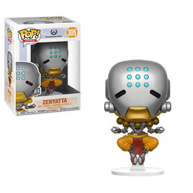 Funko Pop! Games: Overwatch - Zenyatta Vinyl Figure