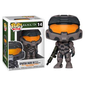 Funko POP! Games: Halo - Spartan Mark VII with VK78 Commando Rifle