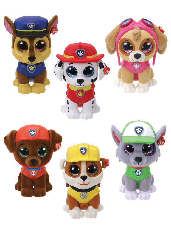 Ty Mini Boos - Paw Patrol Collectibles