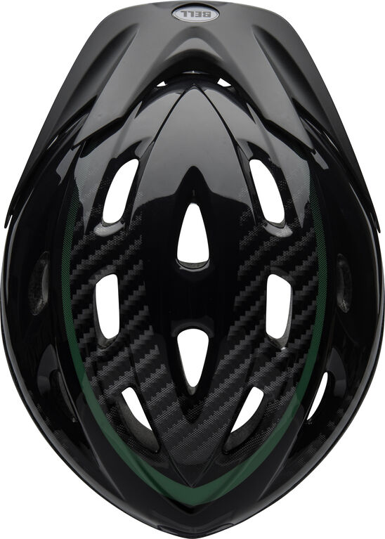 Bell - Youth Richter Black Green Helmet Fits head sizes 54 - 58 cm