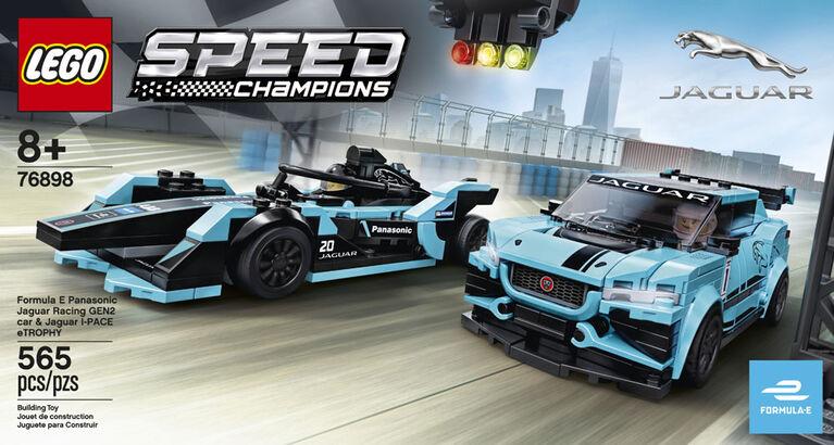 LEGO Speed Champions Formula E Panasonic Jaguar Racing GEN2 c 76898