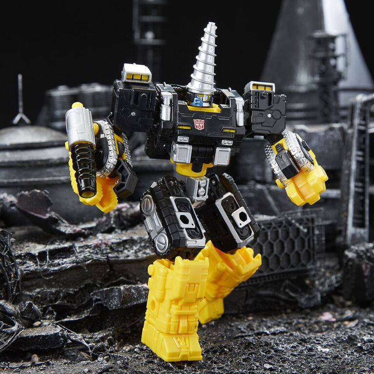 Transformers Generations Selects - WFC-GS08 Powerdasher Zetar, War for Cybertron Deluxe Class Figure - R Exclusive