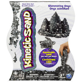 Kinetic Sand 1lb Shimmering Black Onyx