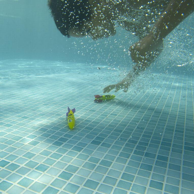 SwimWays, Jouets de plongée Toypedo Bandits - Pack de 4
