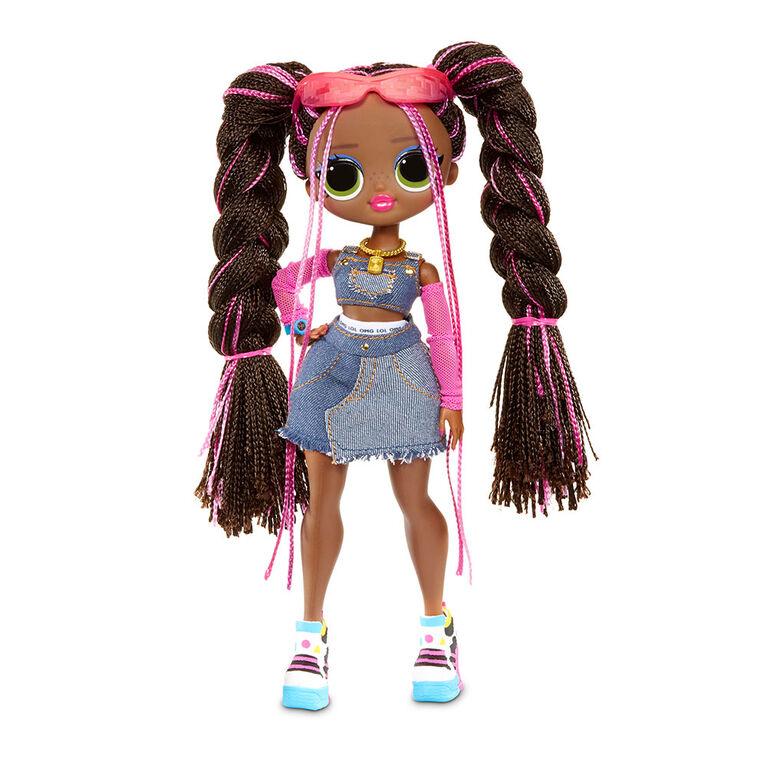 L.O.L. Surprise! O.M.G. Remix Honeylicious Fashion Doll- 25 Surprises with Music
