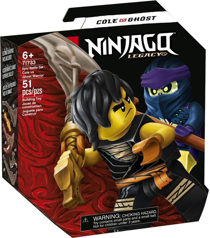 LEGO Ninjago Epic Battle Set - Cole vs. Ghost Warrior 71733