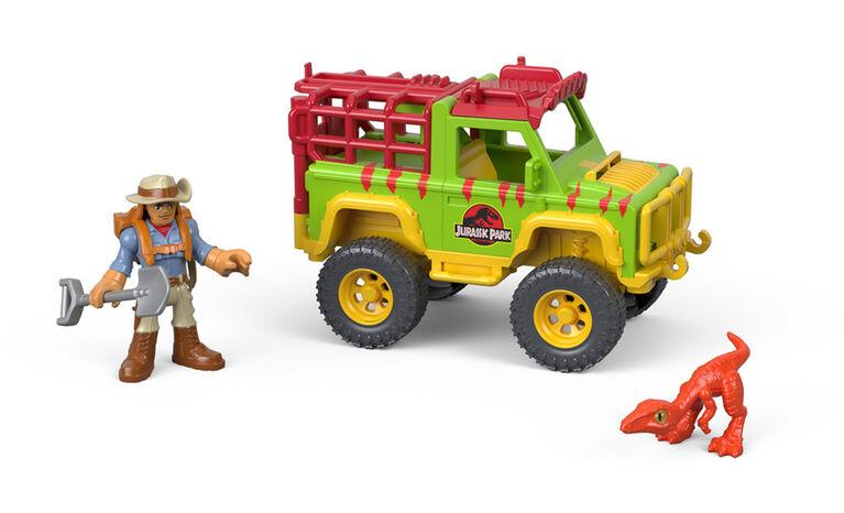 Fisher-Price Imaginext Jurassic World Dr Grant & 4x4