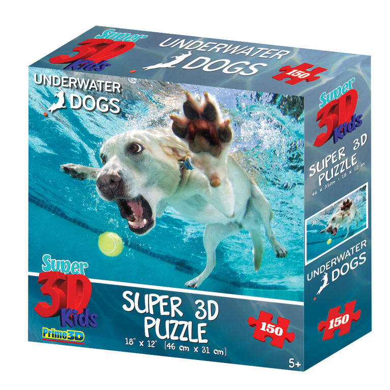 Underwater Dogs Daisy 150 pc Super 3D Puzzle