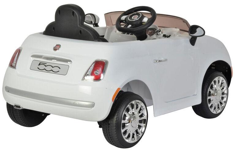 Fiat 500 12V- Blanc