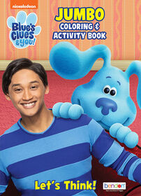 Blues Clues & You Jumbo Coloring Book - English Edition