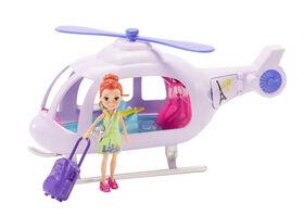 Polly Pocket - Hélicoptère de vacances - Notre exclusivité