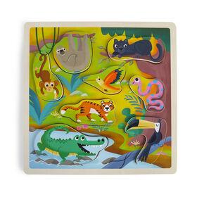 Imaginarium Discovery - Wooden Chunky Puzzle Assortment - Safari