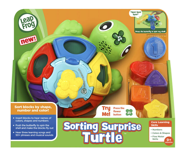 LeapFrog Ma tortue tourni-formes - Édition anglaise