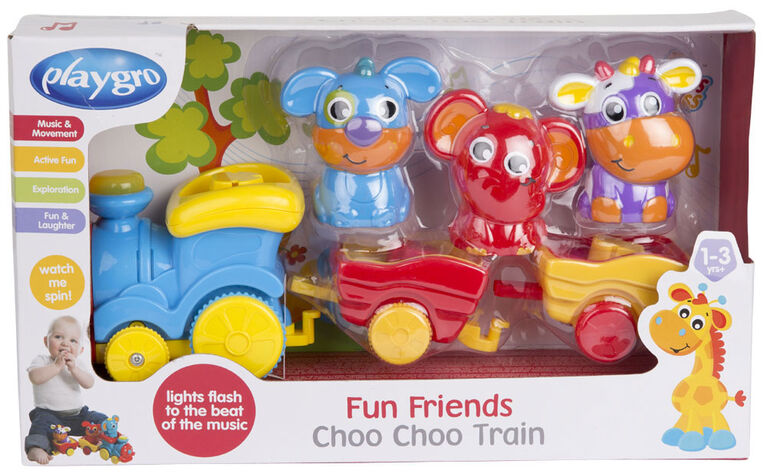 Playgro - Fun Friends Choo Choo Train