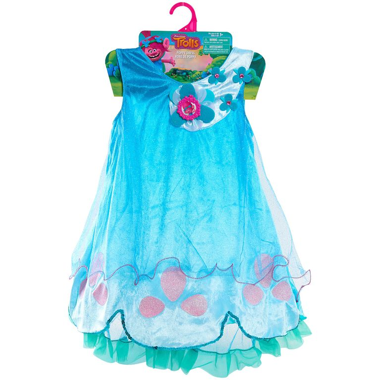 Trolls Poppy Dress