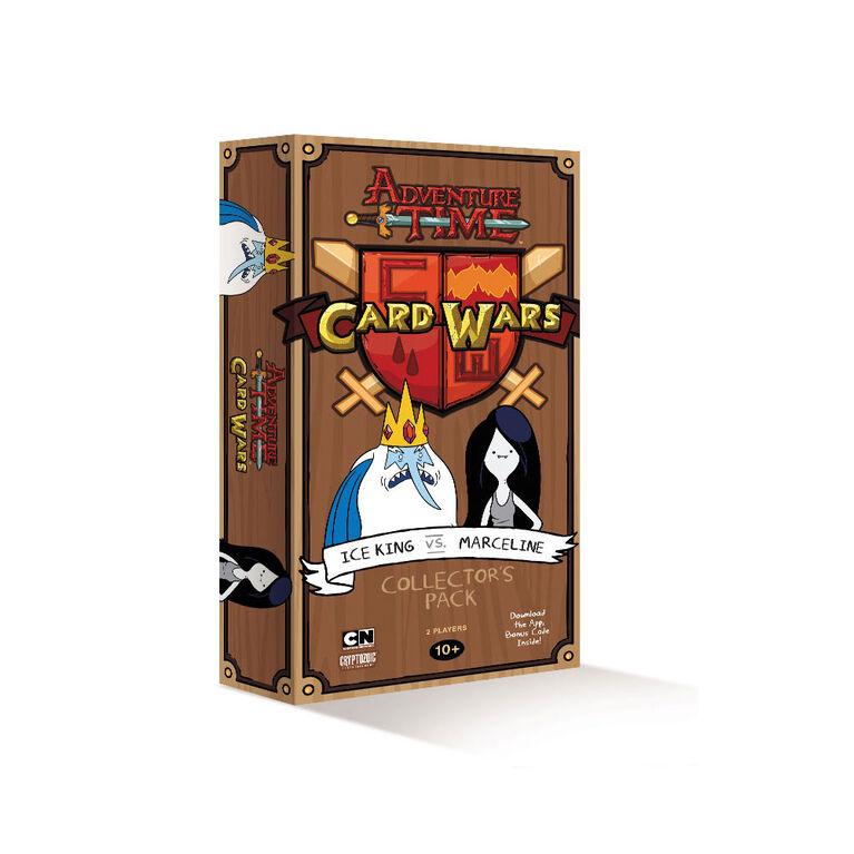 Adventure Time Card Wars Ice King vs Marceline