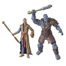 Marvel Legends Series Thor: Ragnarok - Pack de 2 figurines Grandmaster et Korg.
