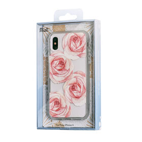 Blu Element Mist Case for iPhone XS/X Rosie Roses Frosted (MROIX)