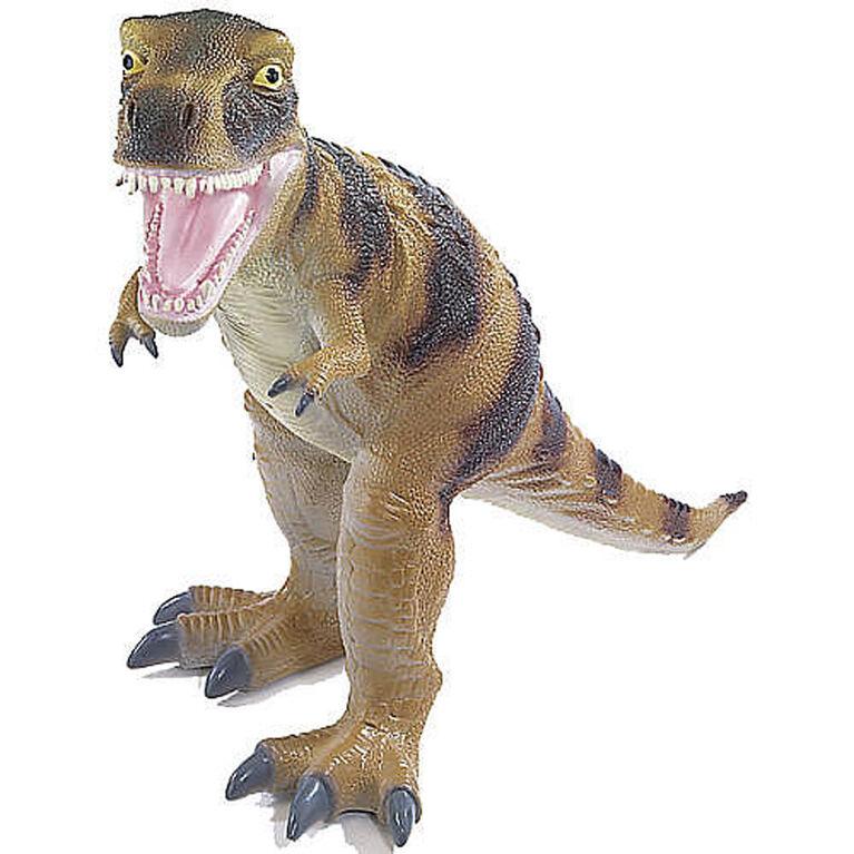 Animal Planet - T-Rex géant en mousse 50,8 cm - Brun - Notre exclusivité