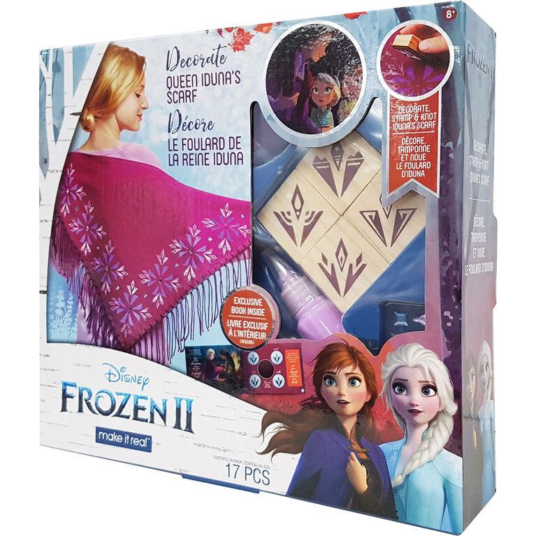 Frozen II Decorate Queen Idunas Shawl