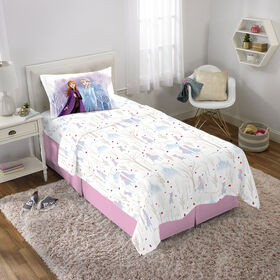 "Disney Frozen II ""Spirit of Nature"" Twin Sheet Set"