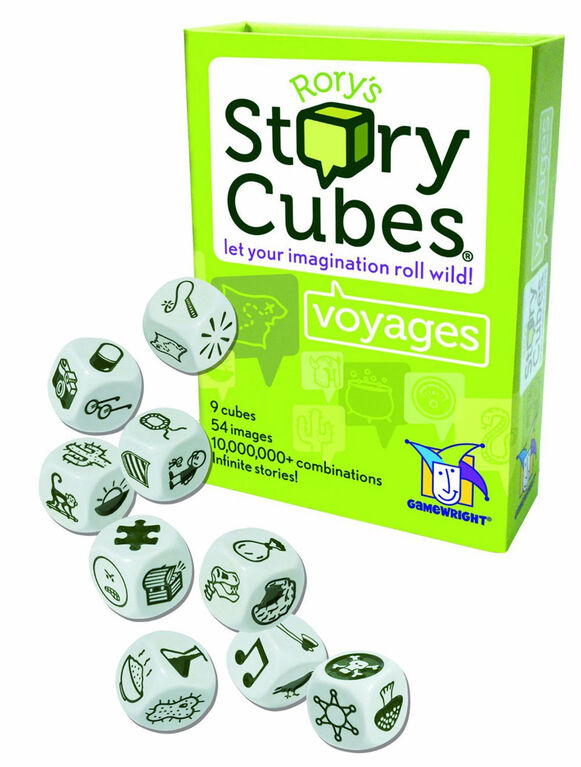 Gamewright - Rory's Story Cubes Voyages