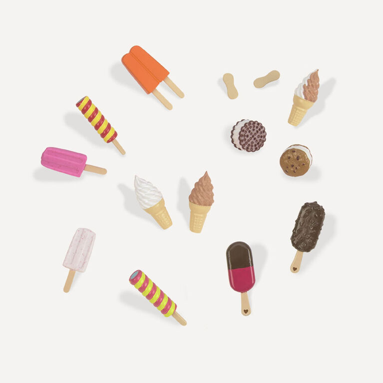 Our Generation, Sweet Stop Ice Cream Playset for 18-inch Dolls