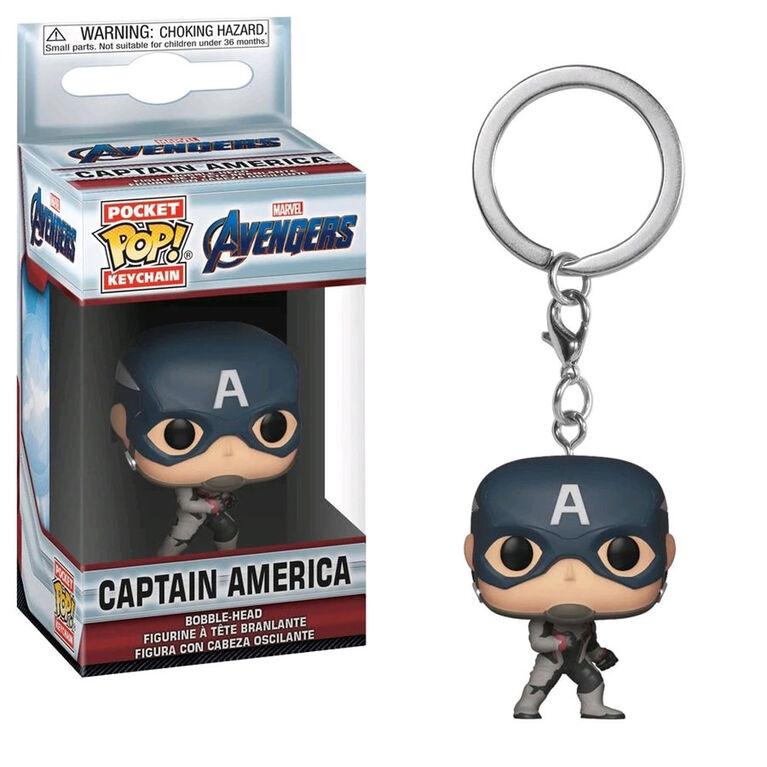 Funko Keychain! Marvel: Avengers Endgame - Captain America Vinyl Figure