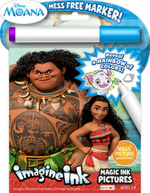 Moana Imagine Ink Pictures