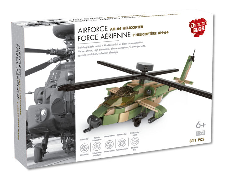 Dragon Blok - AH-64 Helicopter