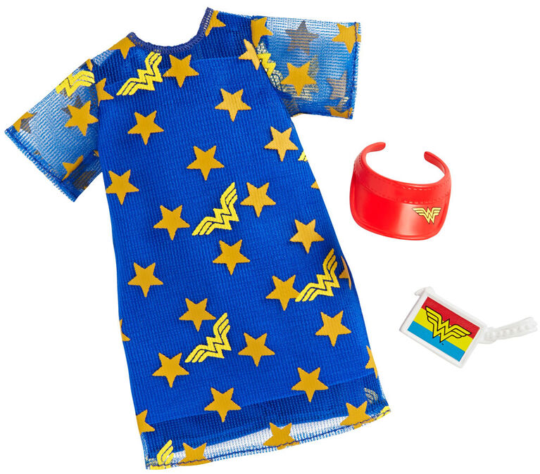 Barbie Wonder Woman T-Shirt Dress Fashion Pack