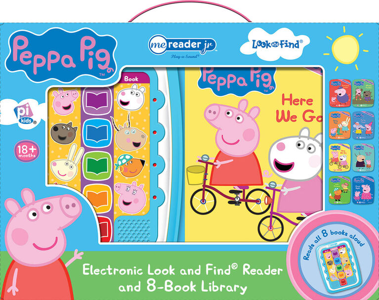Me Reader Jr Peppa Pig - Édition anglaise