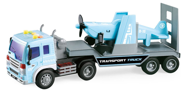 Dragon Wheels: Airplane and Carrier Truck City Service