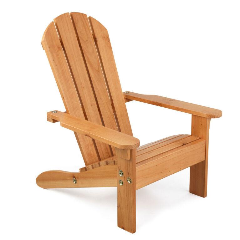 KidKraft - Chaise Adirondack - Miel