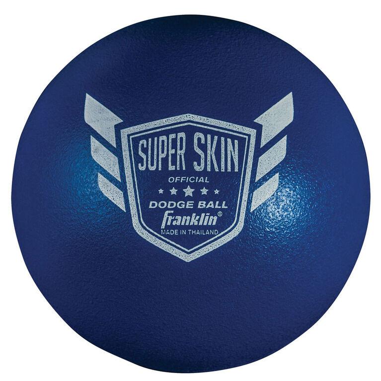 Ballon de ballon chasseur Franklin Sports de 15,2 cm (6 po) (bleu) - Édition anglaise