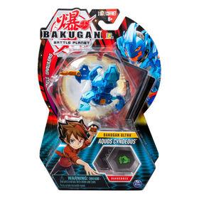 Bakugan Ultra, Aquos Cyndeous, 3-inch Tall Collectible Transforming Creature